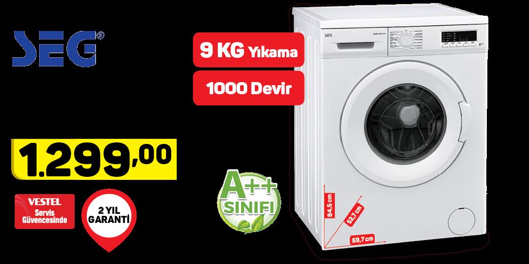 Seg Çamaşır Makinesi Scm 9100