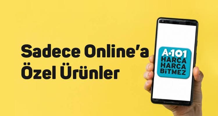 A101 Online'a Özel Ürünler