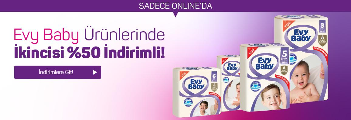 Evy Baby ürünlerinde indirim