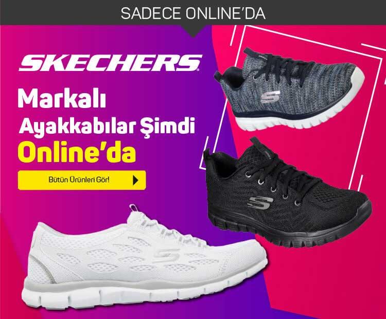 Skechers ayakkabı A101'den alınır!
