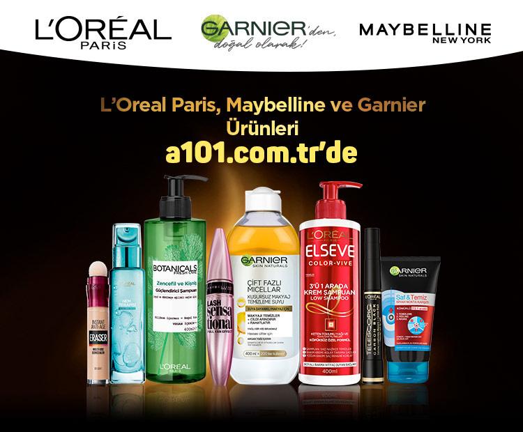L'Oreal tüm ürünleri