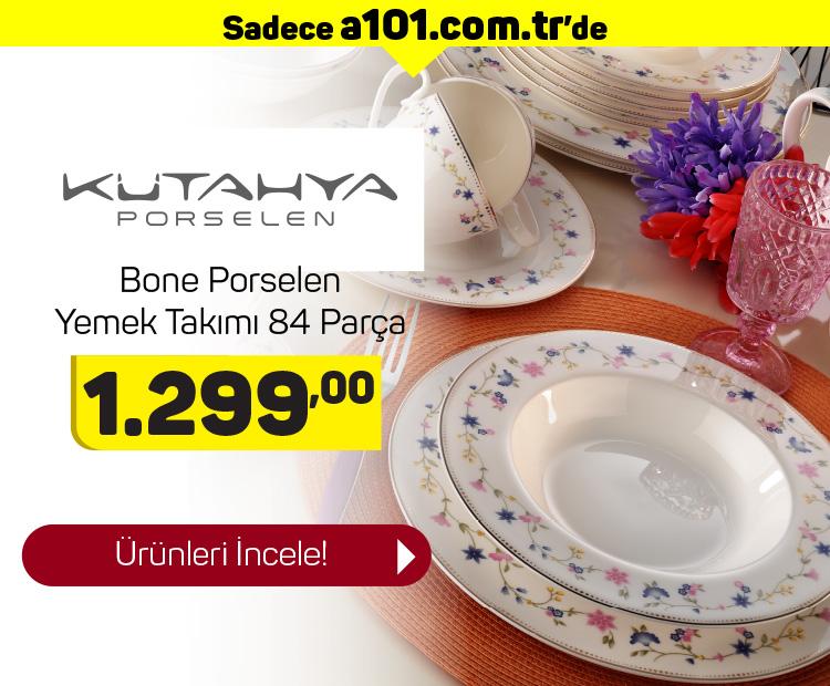 Kütahya Porselen 84 Parça Yemek Takımı Çeşitleri