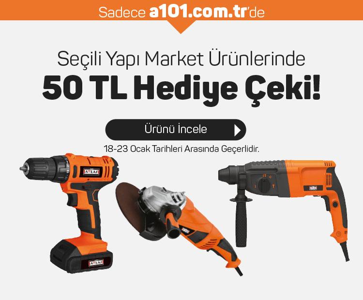 Yapı Market Ürünlerinde 50 TL Hediye Çeki