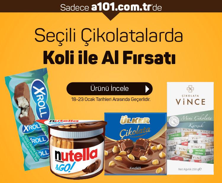 Çikolatalarda Koli ile Al Fırsatı!