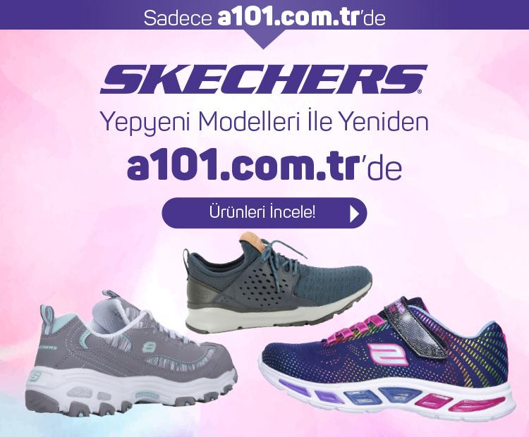 Yepyeni Modelleriyle Skechers Stoklarımızda !