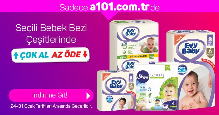 Seçili Bebek Bezi Ürünlerinde Çok Al Az Öde