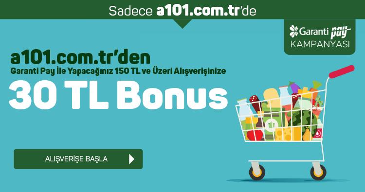 Garanti Pay ile 30 TL Bonus