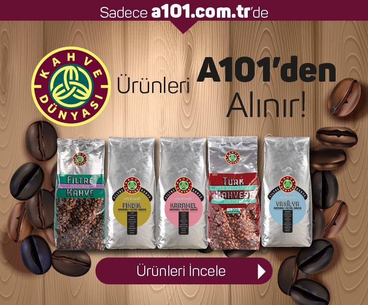 Kahve Dünyası Ürünleri A101'de