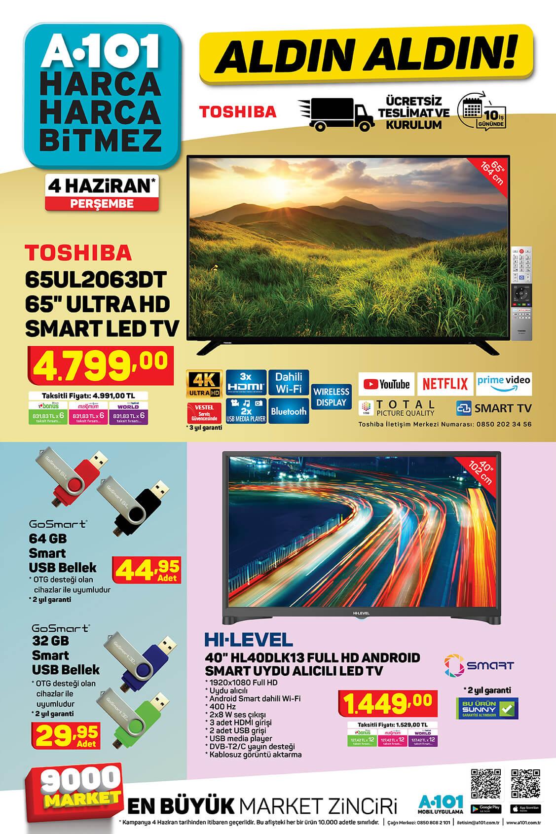 A101 Aktüel Katalog Haziran 2020
