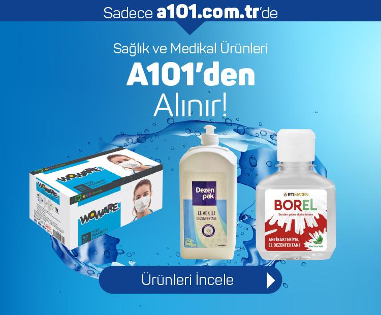 Sağlık Ürünleri A101'de