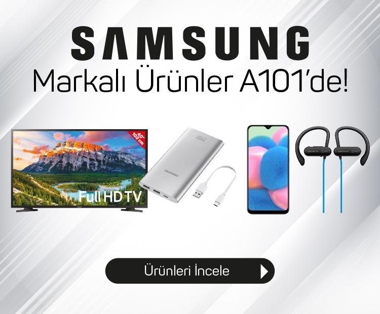 Samsung Markalı Ürünler A101'de!