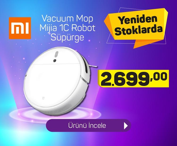Xiaomi Mİ Robot Süpürge Vacuum Mop