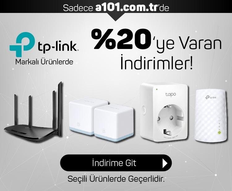 TP-Link Ürünlerinde %20'e Varan İndirim!