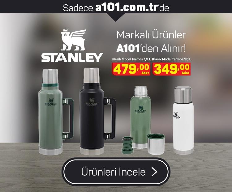 Stanley Ürünleri A101'den Alınır!