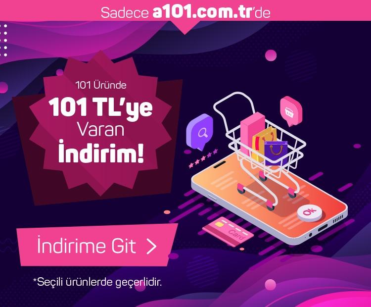101 Üründe 101 TL'ye Varan İndirim