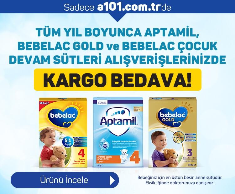 Bebelac ve Aptamil Ürünlerinde Kargo Bedava!