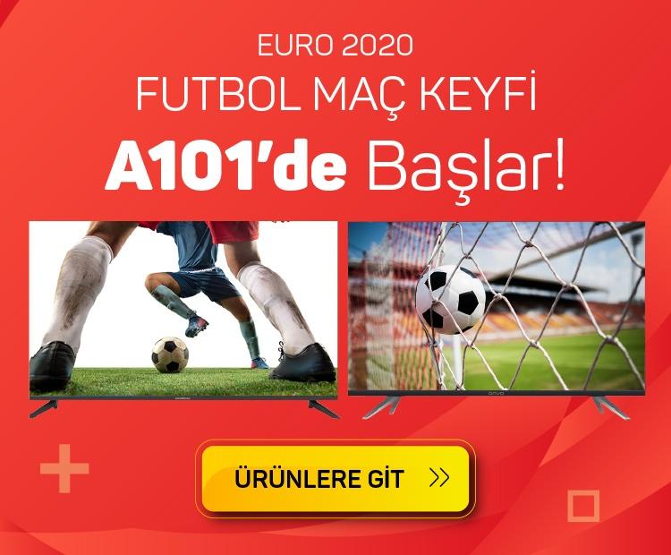Euro 2020 Futbol Maç Keyfi A101'de Başlar