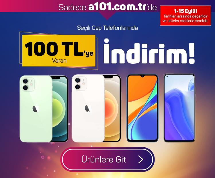Seçili Cep Telefonlarında 100 TL'ye Varan İndirim!