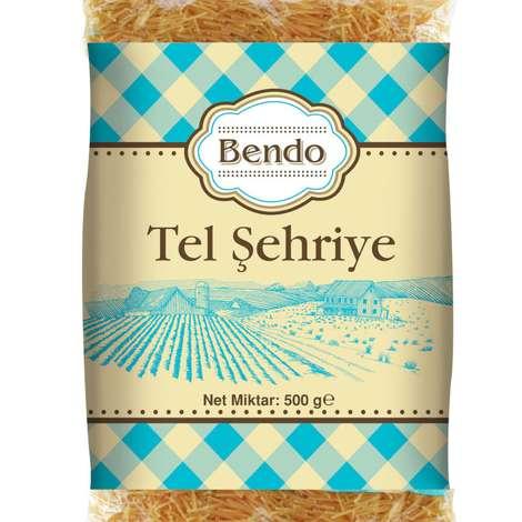 Bendo Tel Şehriye  Makarna  500 G