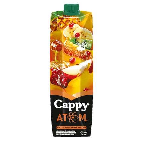 Cappy Meyve Nektarı Atom 1 L