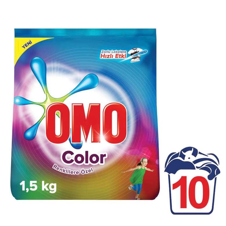 Omo Toz Deterjan Renkli/Beyaz 1.5 Kg