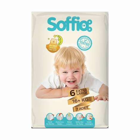 Soffio 6 Numara  Extra Large 7'li Bebek Bezi