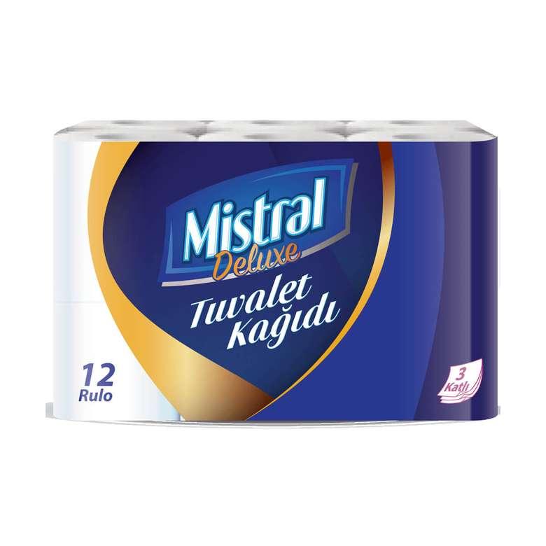 Mistral Tuvalet Kağıdı Üç Katlı 12'li