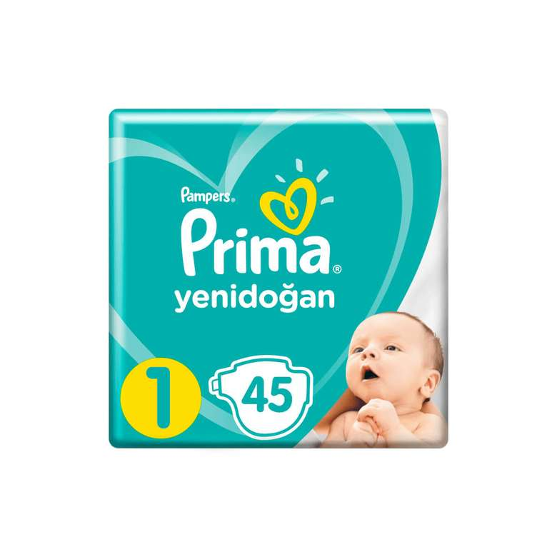 Prima Çocuk Bezi Yenidoğan 45'li