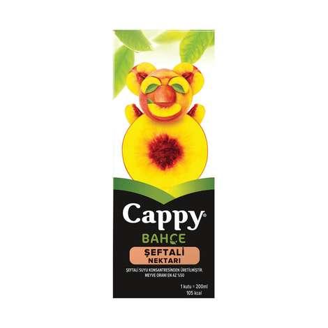Cappy Meyve Nektarı Şeftali 200 Ml