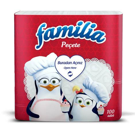 Familia Peçete 30x30 Cm 100'lü