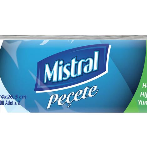 Mistral Peçete 24x26,5 Cm 200'lü