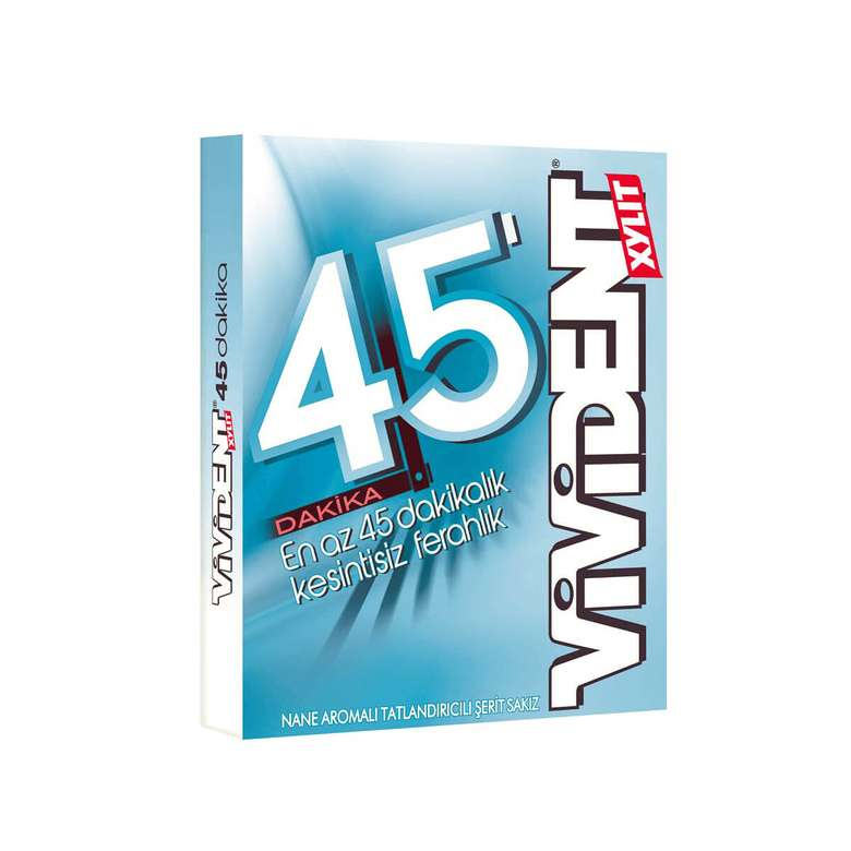 Vivident 45 Dk Sakız Nane Aromalı 33 G