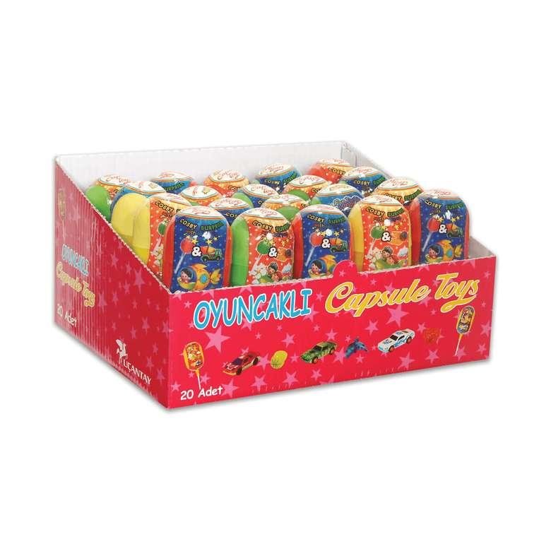 Capsule Toys Şeker Oyuncaklı Lolipop 9 G