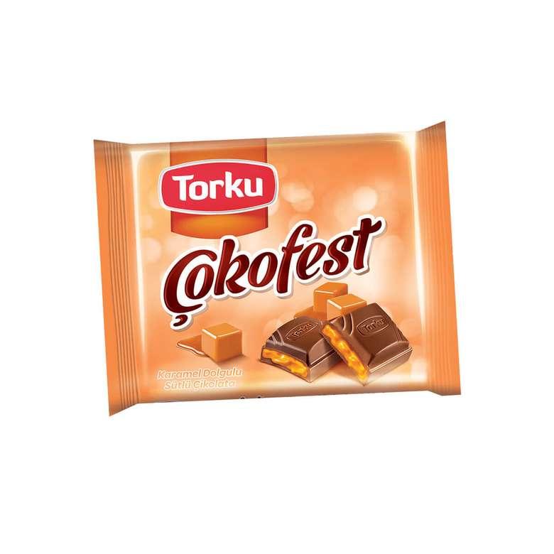 Torku Çokofest Çikolata Karamel Dolgulu 60 G