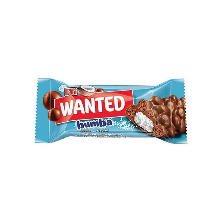 Eti Wanted Bumba  Hindistan Cevizli Bar Çikolata 40 G