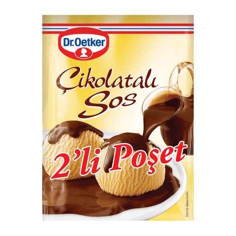 Dr.Oetker Çikolatalı Sos 102x2 Gr