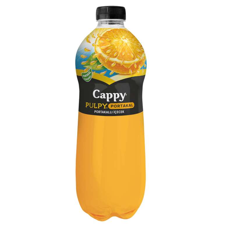 Cappy Pulpy Aromalı İçecek Portakal 1 L
