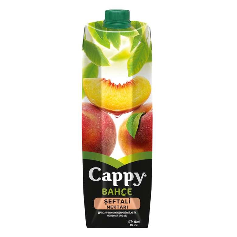 Cappy Meyve Nektarı Şeftali 1 L