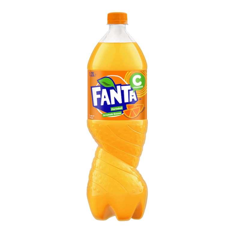 Fanta Gazlı İçecek Portakal 1.25 L
