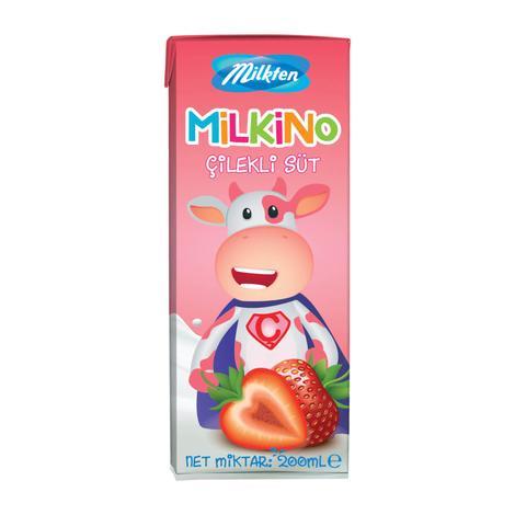 Milkten Milkino Süt Çilekli 200 Ml