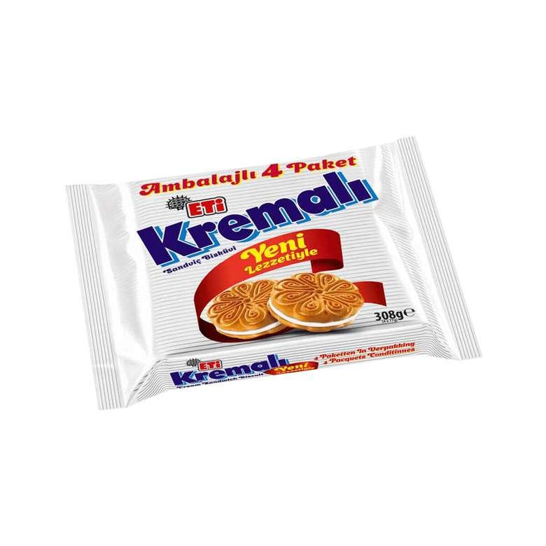 Eti Kremalı Bisküvi 4x77 G