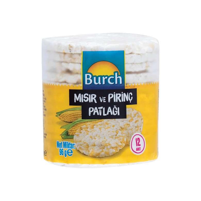 Burch Mısır&Pirinç Patlağı 96 G