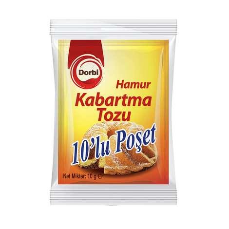 Dorbi Hamur Kabartma Tozu 10x10 G