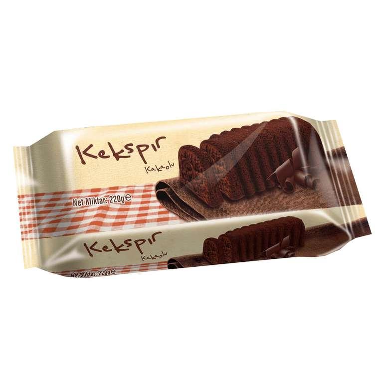 Kekspır Kek Kakaolu 220 G