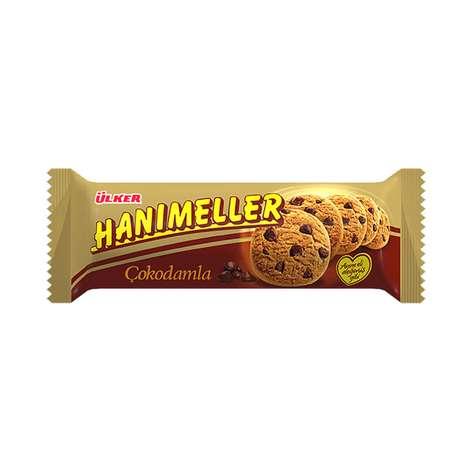 Ülker Hanımeller Kurabiye Fındıklı/damla Çikolatalı 82 G
