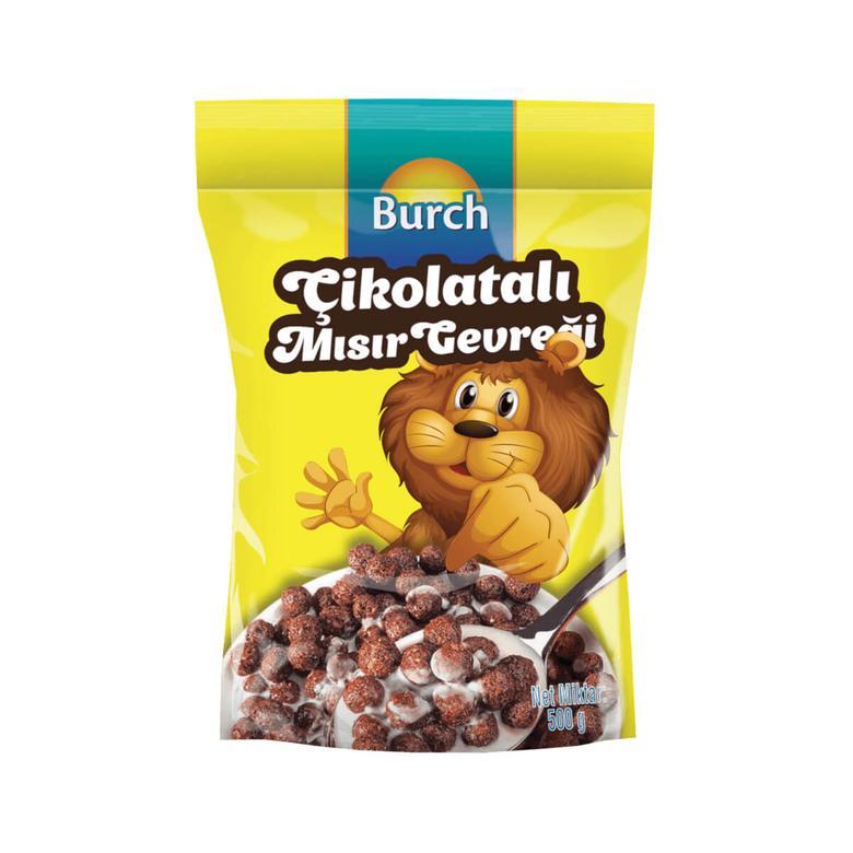 Burch Mısır Gevreği Kakaolu 500 G