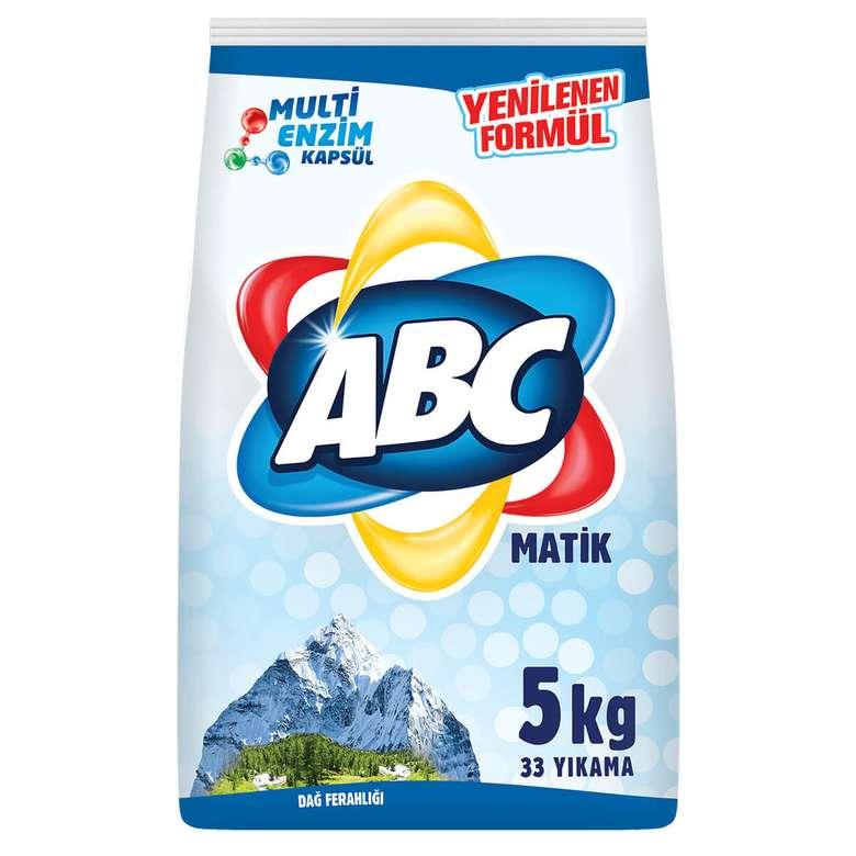 Abc Toz Deterjan Beyaz 5 Kg
