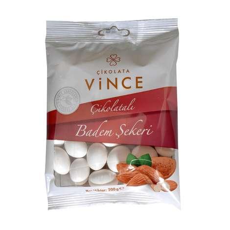 Vince Draje Çikolatalı Badem Şekeri 200 G