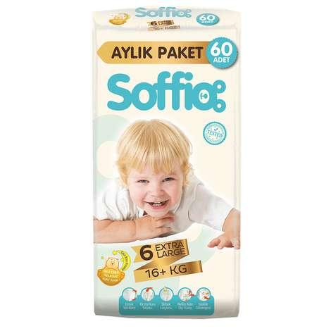 Soffio 6 Numara Extra Large 60'lı Çocuk Bezi