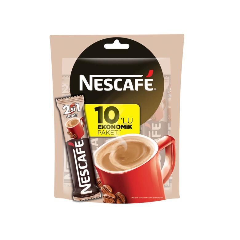 Nescafe Kahve 2'si 1 Arada 10'lu